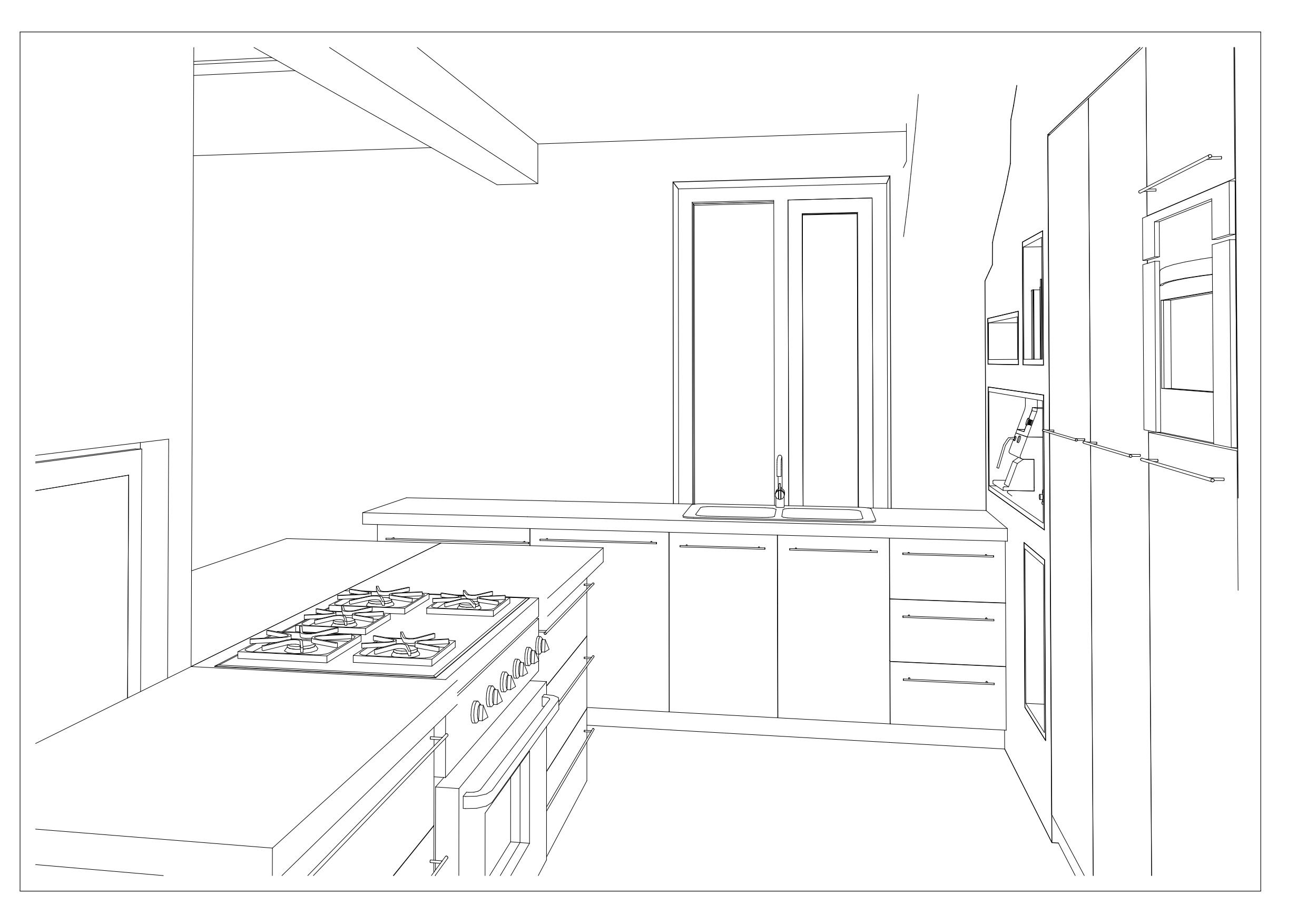 van kleine gesloten keuken naar ruime woonkeuken  van huis naar thuis